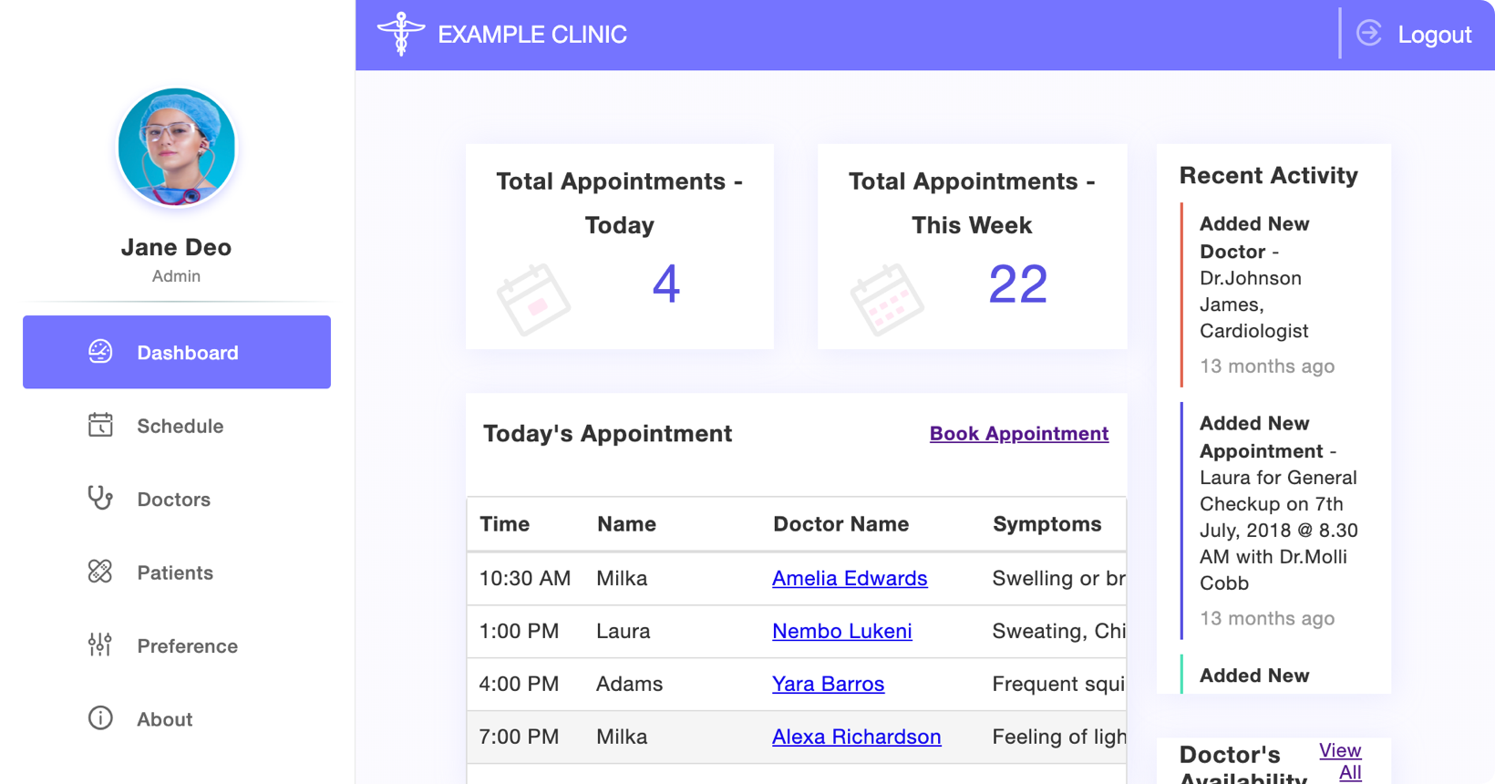 Appointment Planner
