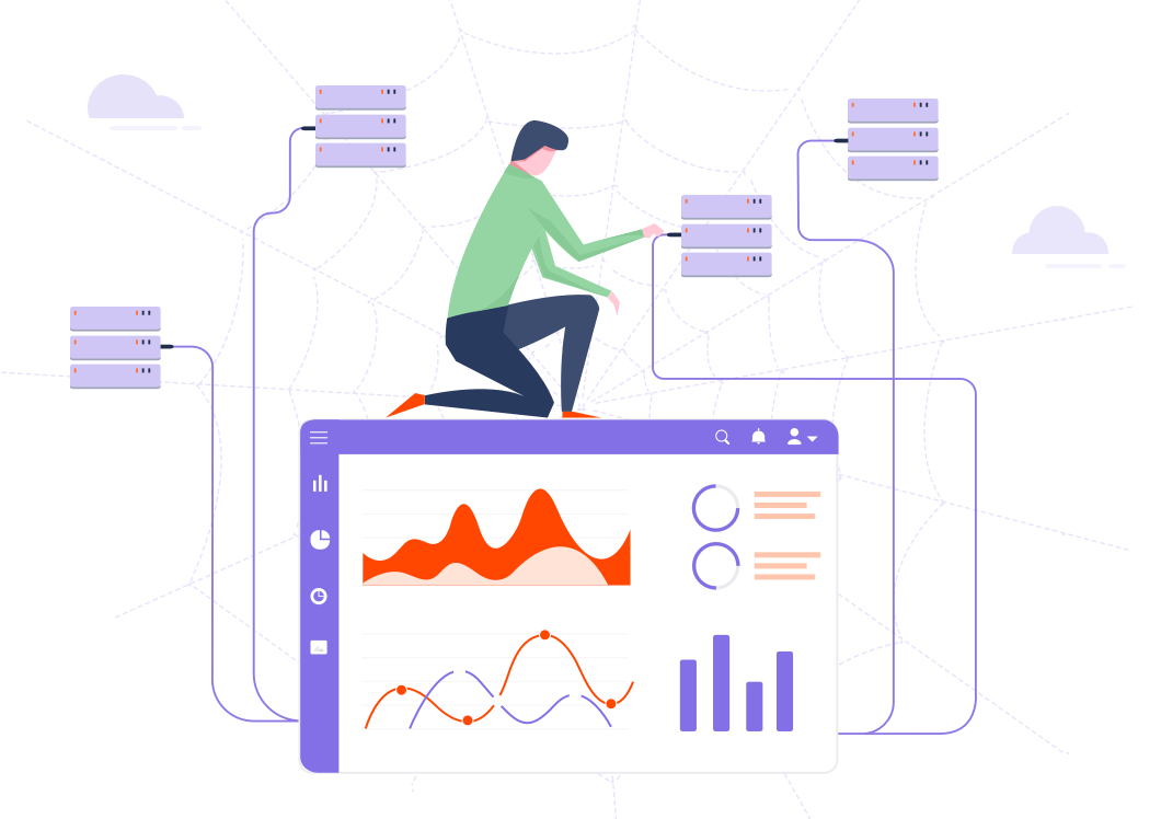 Connect directly to most web-based data sources