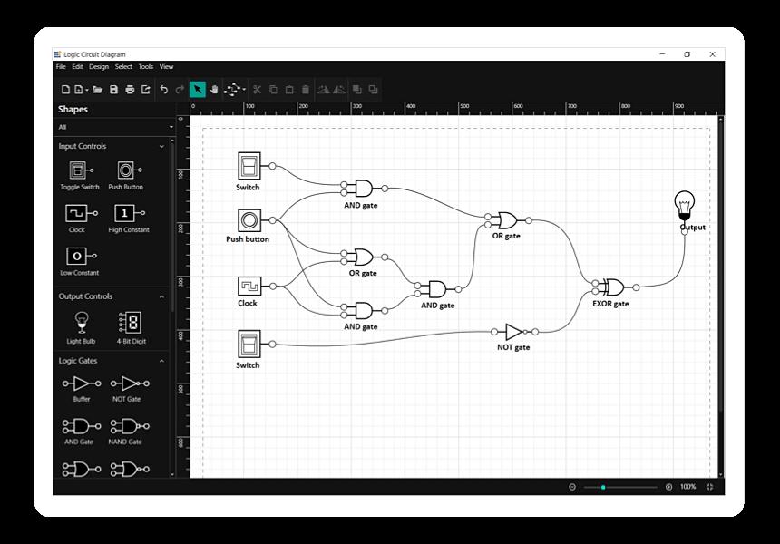 Logical circuit designer