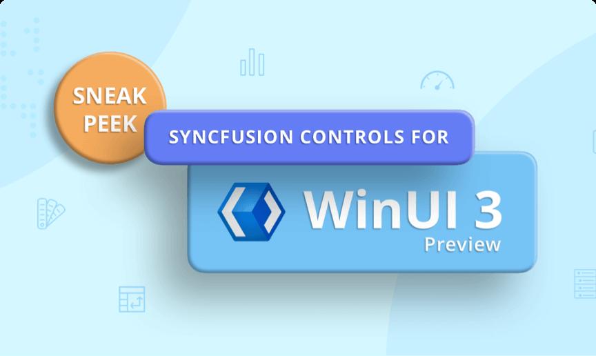 WinUI Widgets Are now web-compatible