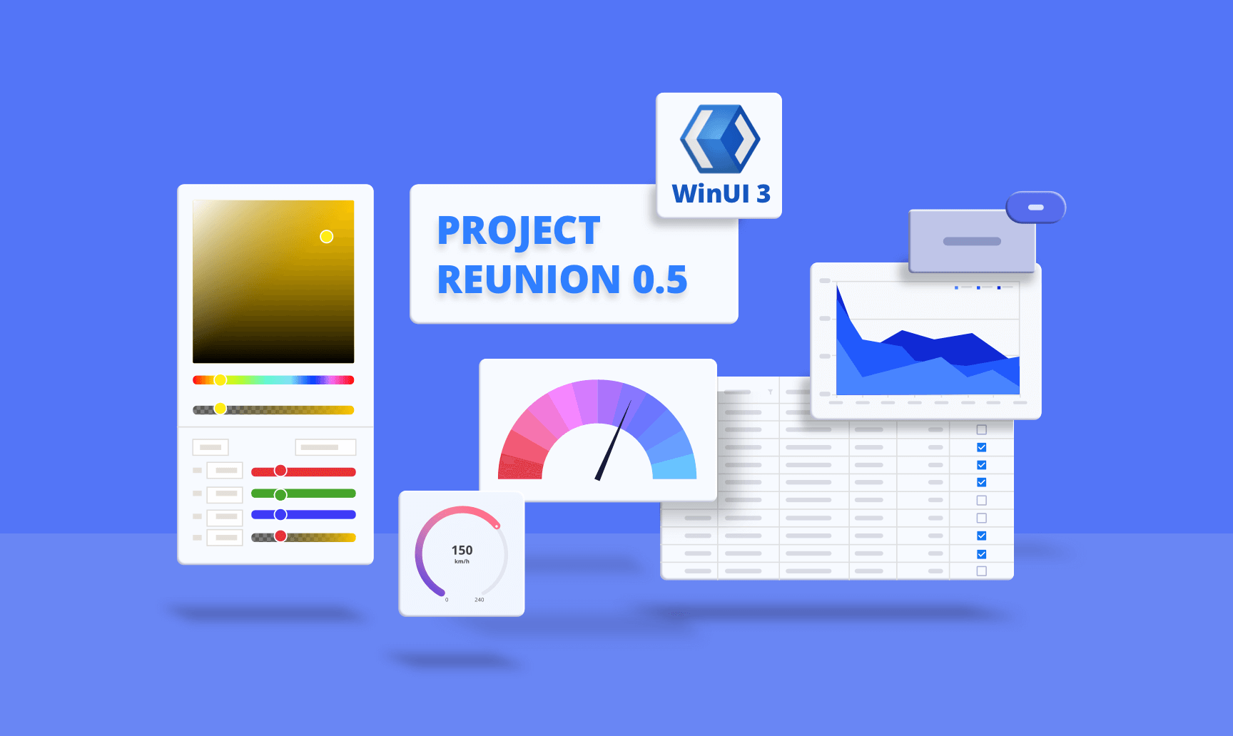 WinUI Controls are Compatible with Project Reunion 0.5