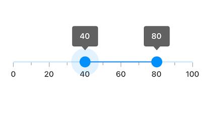 simple range slider