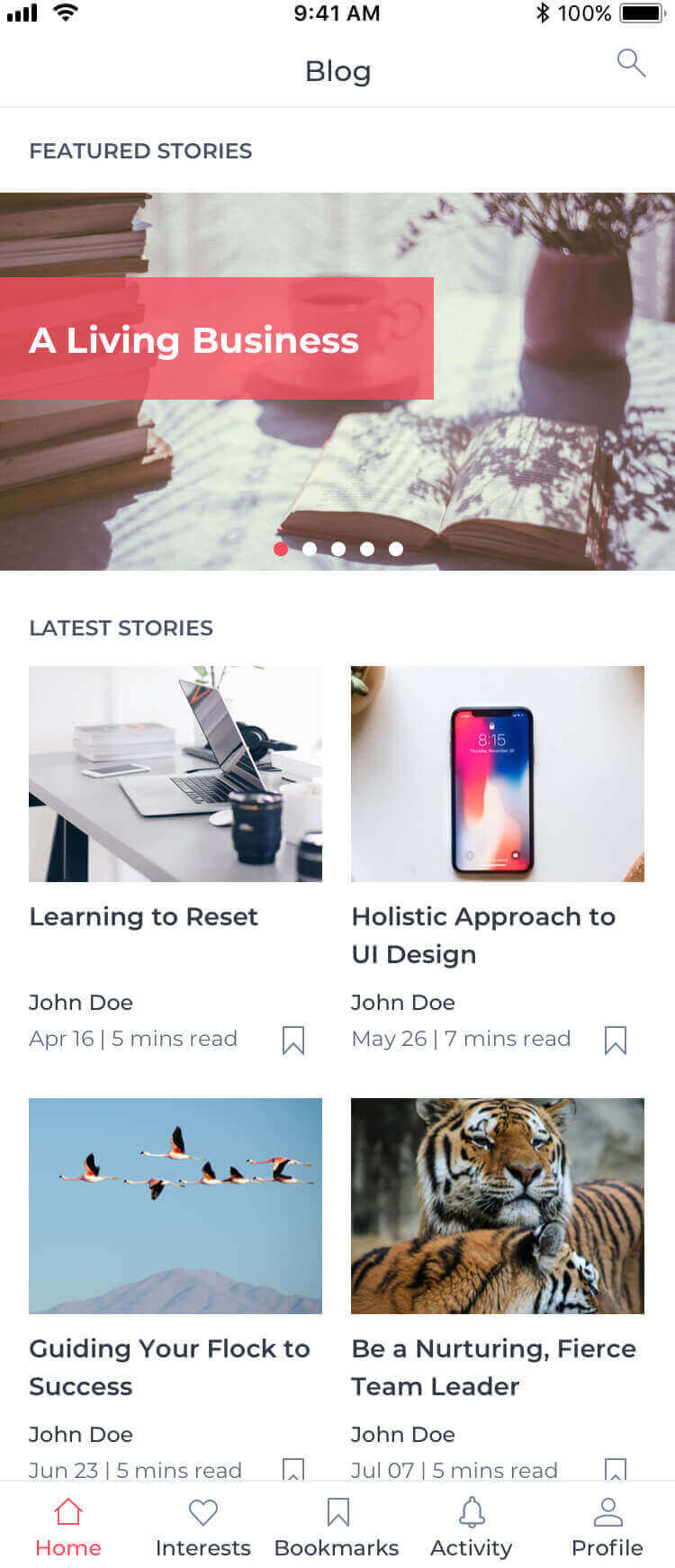 Article Xamarin Template