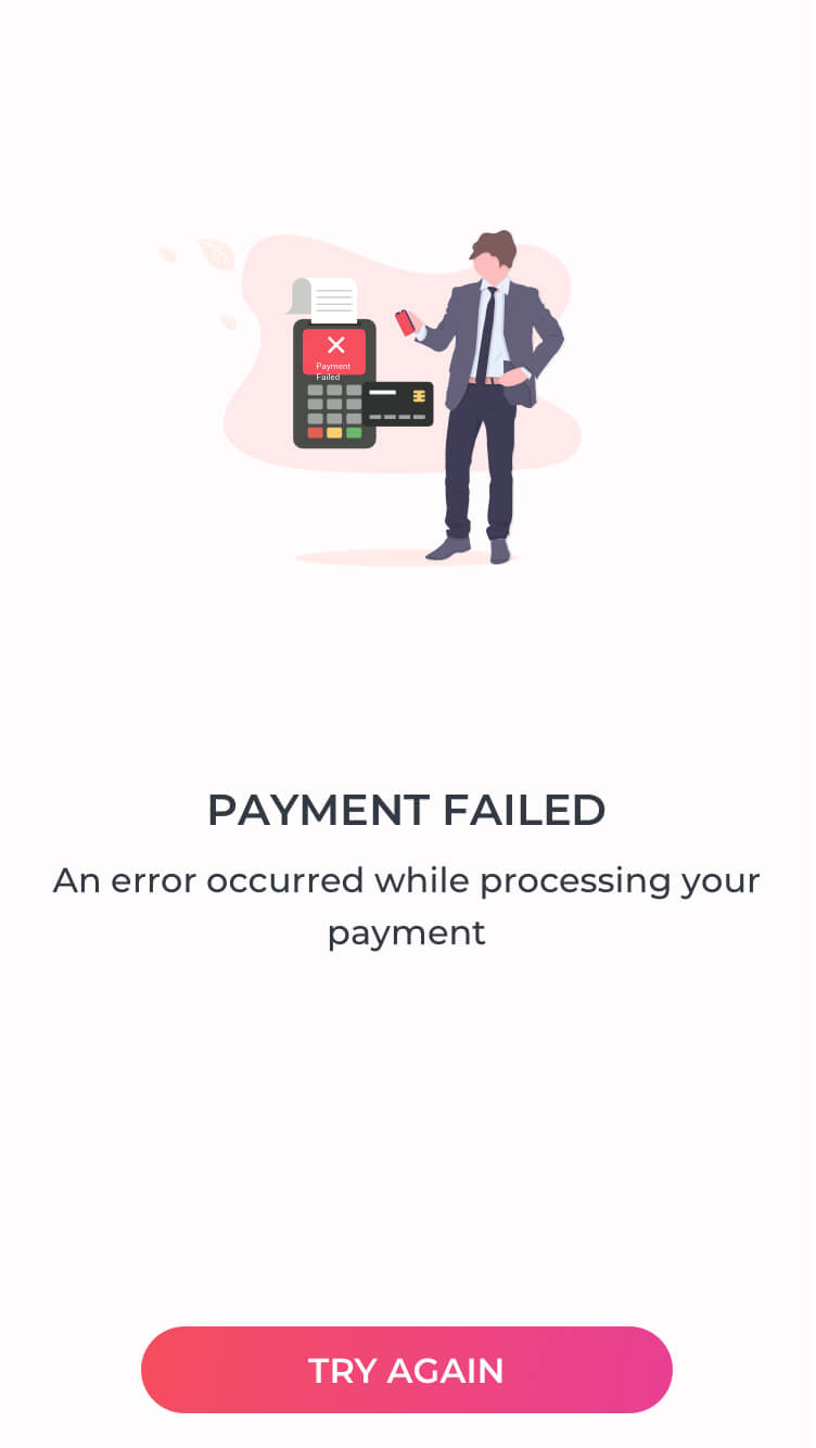 Payment Failed Template
