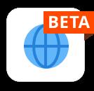 Web Beta Icon