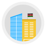 5th office in Kenya