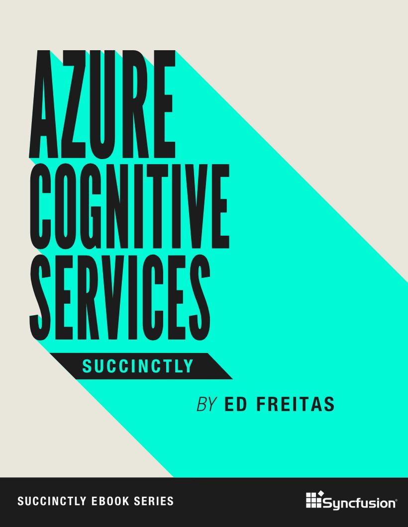 Azure Cognitive Service Succinctly