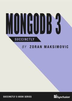 MongoDB 3 Succinctly Free eBook