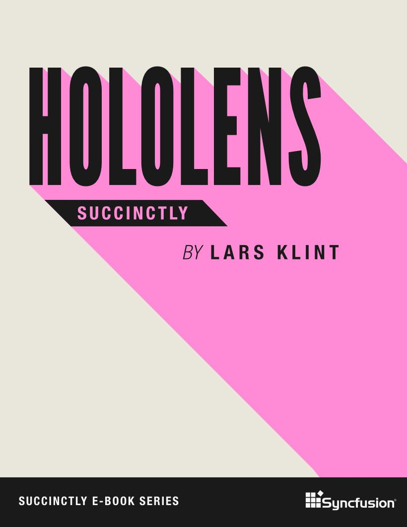 Hololens Succinctly Free eBook
