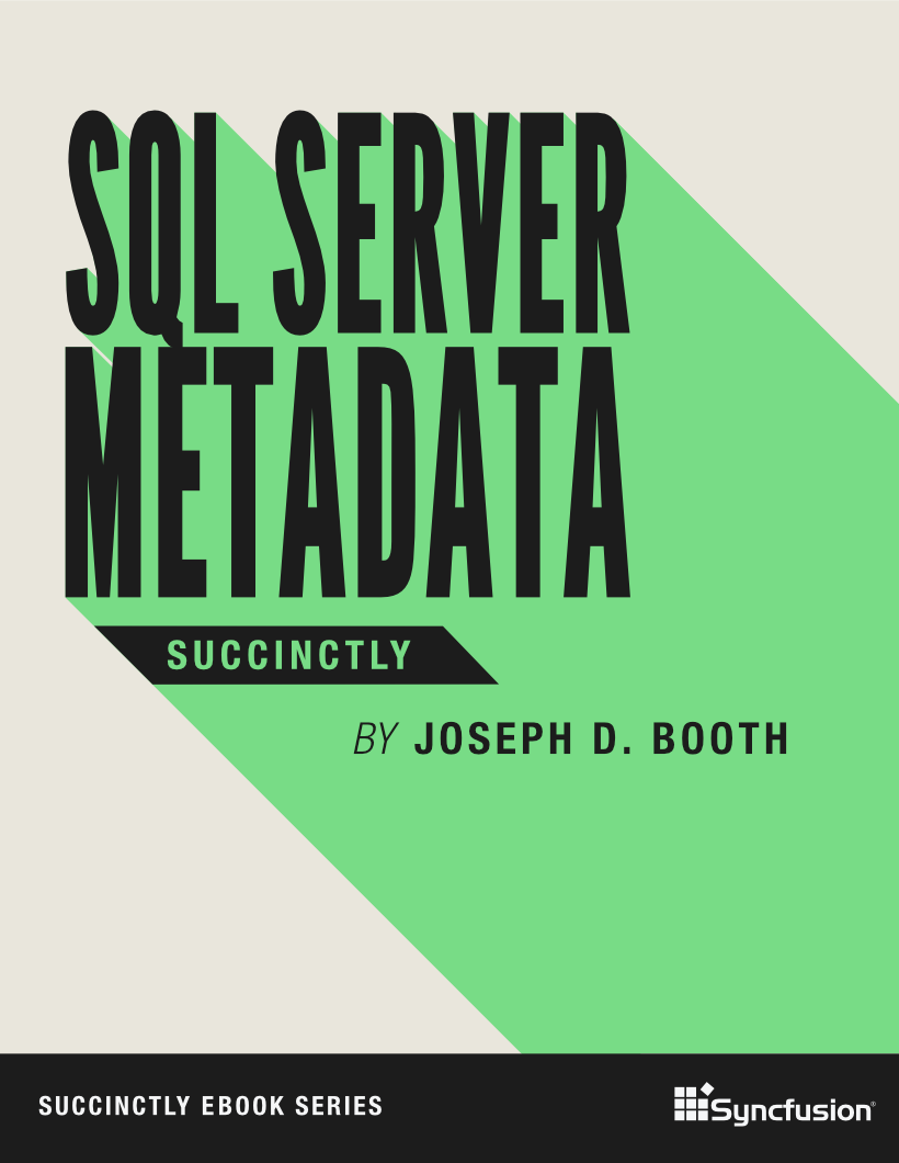 SQL Server Metadata Succinctly