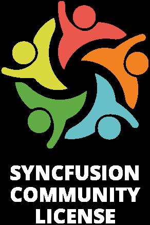 syncfusion community license