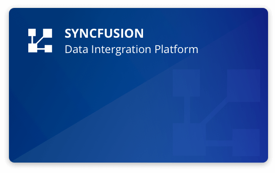 Syncfusion Data Integration Platform   ETL Made Easy