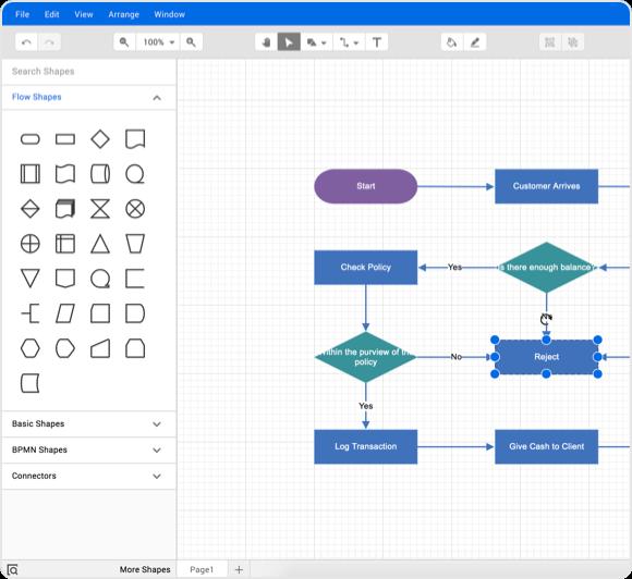 Diagram Builder Sample