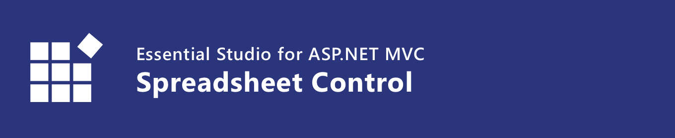 syncfusion asp.net mvc spreadsheet control banner