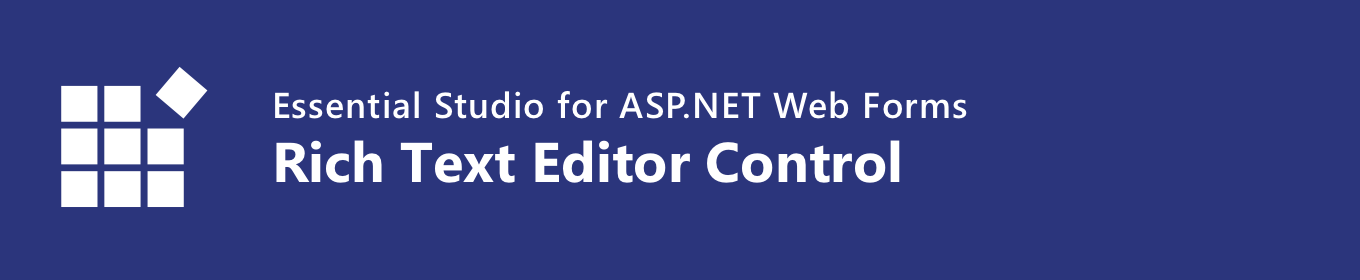 Syncfusion ASP NET Rich Text Editor
