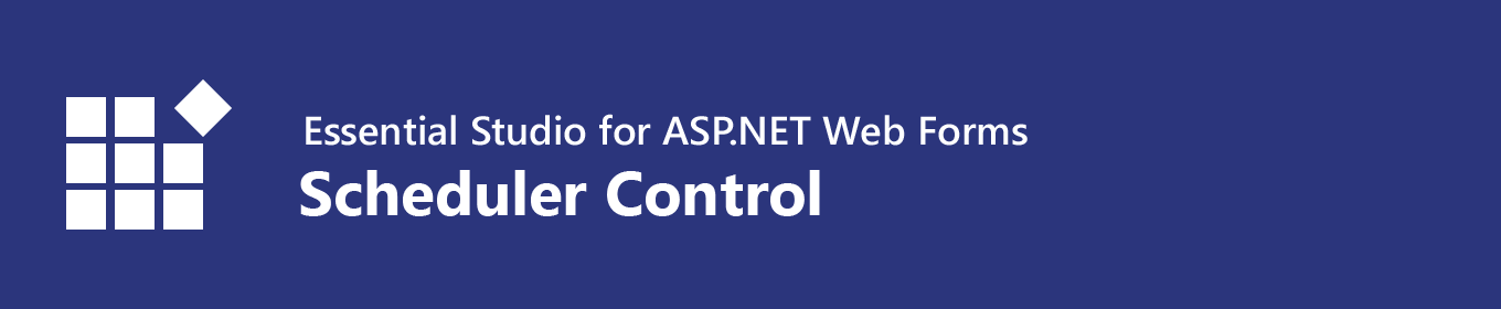 Syncfusion ASP NET Web forms Scheduler