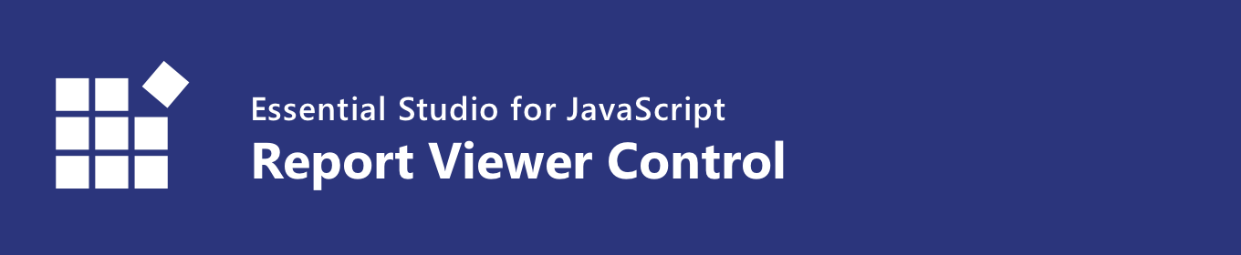 Syncfusion HTML5 JavaScript Report Viewer control banner