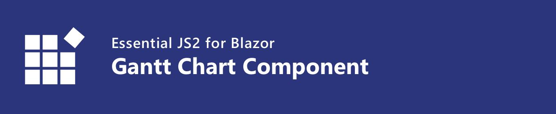 Syncfusion Blazor Gantt Chart Component
