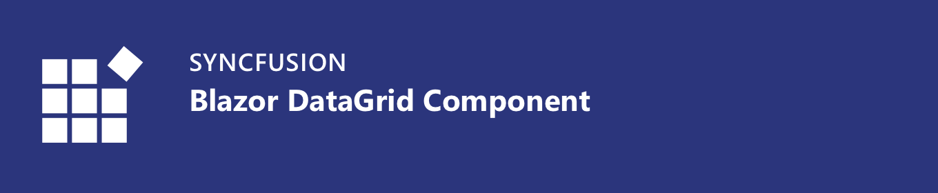 Syncfusion Essential JS 2 for Blazor Data Grid component