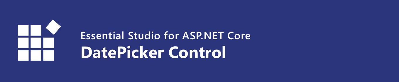 syncfusion asp.net core datepicker control