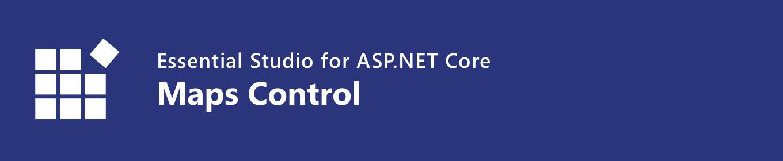 Syncfusion ASP.NET Core Maps Banner