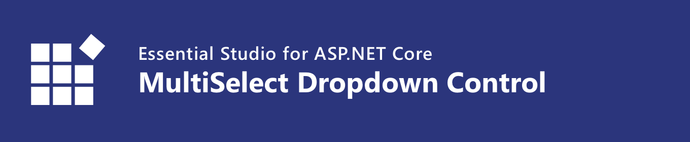 Syncfusion ASP NET Core MultiSelect Dropdown
