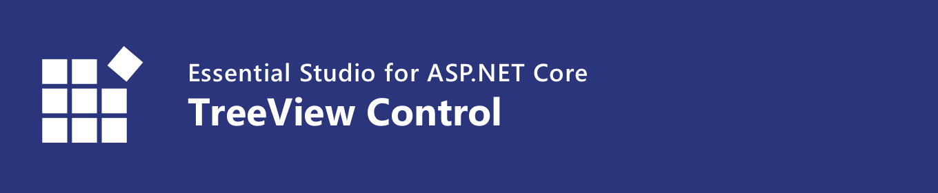 syncfusion asp.net core treeview control banner