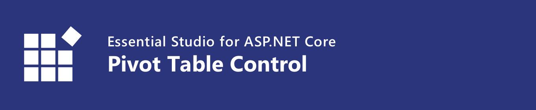 syncfusion asp.net core pivot table control