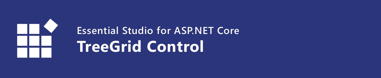 Syncfusion ASP.NET Core TreeGrid