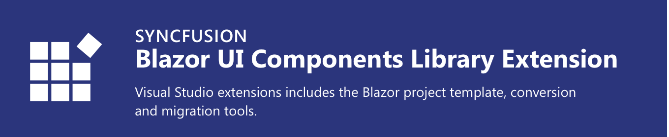 Syncfusion Blazor Extensions