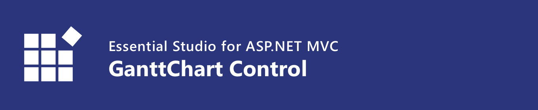 Syncfusion ASP.NET MVC Gantt Chart control