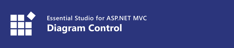 syncfusion asp.net mvc diagram control banner