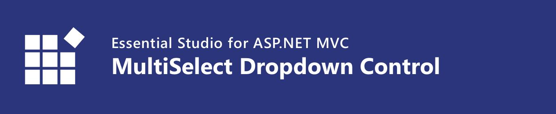Syncfusion ASP NET MVC MultiSelect Dropdown