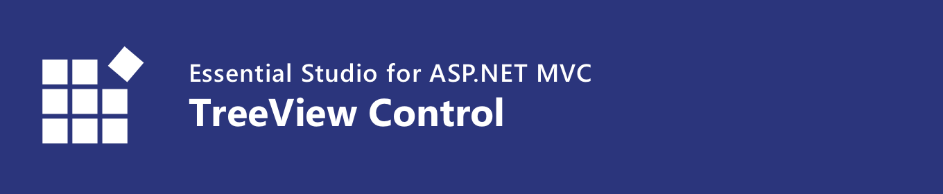 syncfusion asp.net mvc treeview control banner