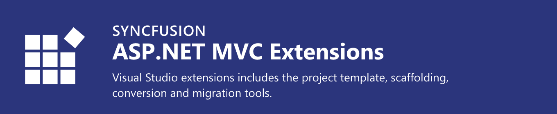 Syncfusion ASP.NET MVC Extensions