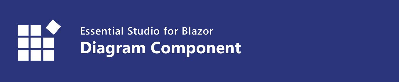 syncfusion blazor diagram component