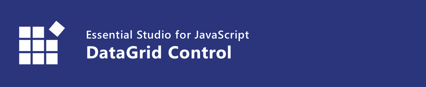 syncfusion javascript datagrid control banner