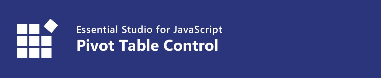syncfusion javascript pivot table control