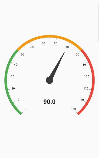 simple radial gauge