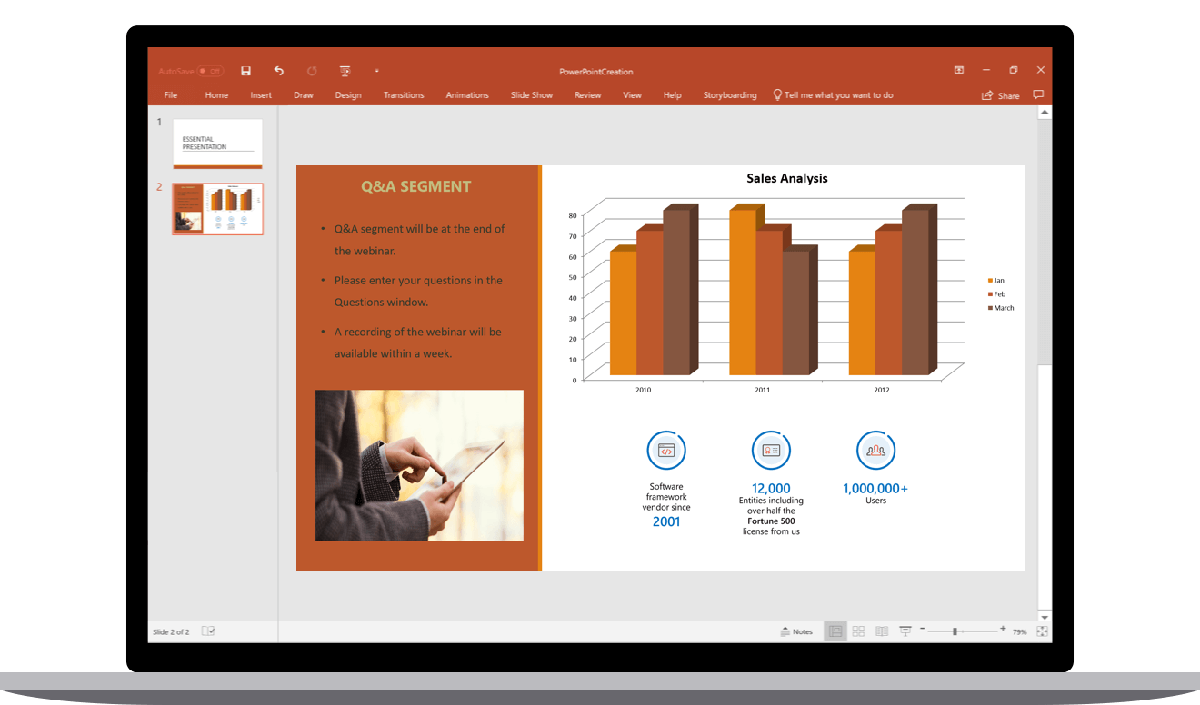 Syncfusion PowerPoint - Create and edit APIs