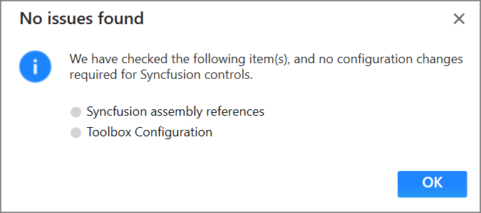 Syncfusion UWP Extensions troubleshooter