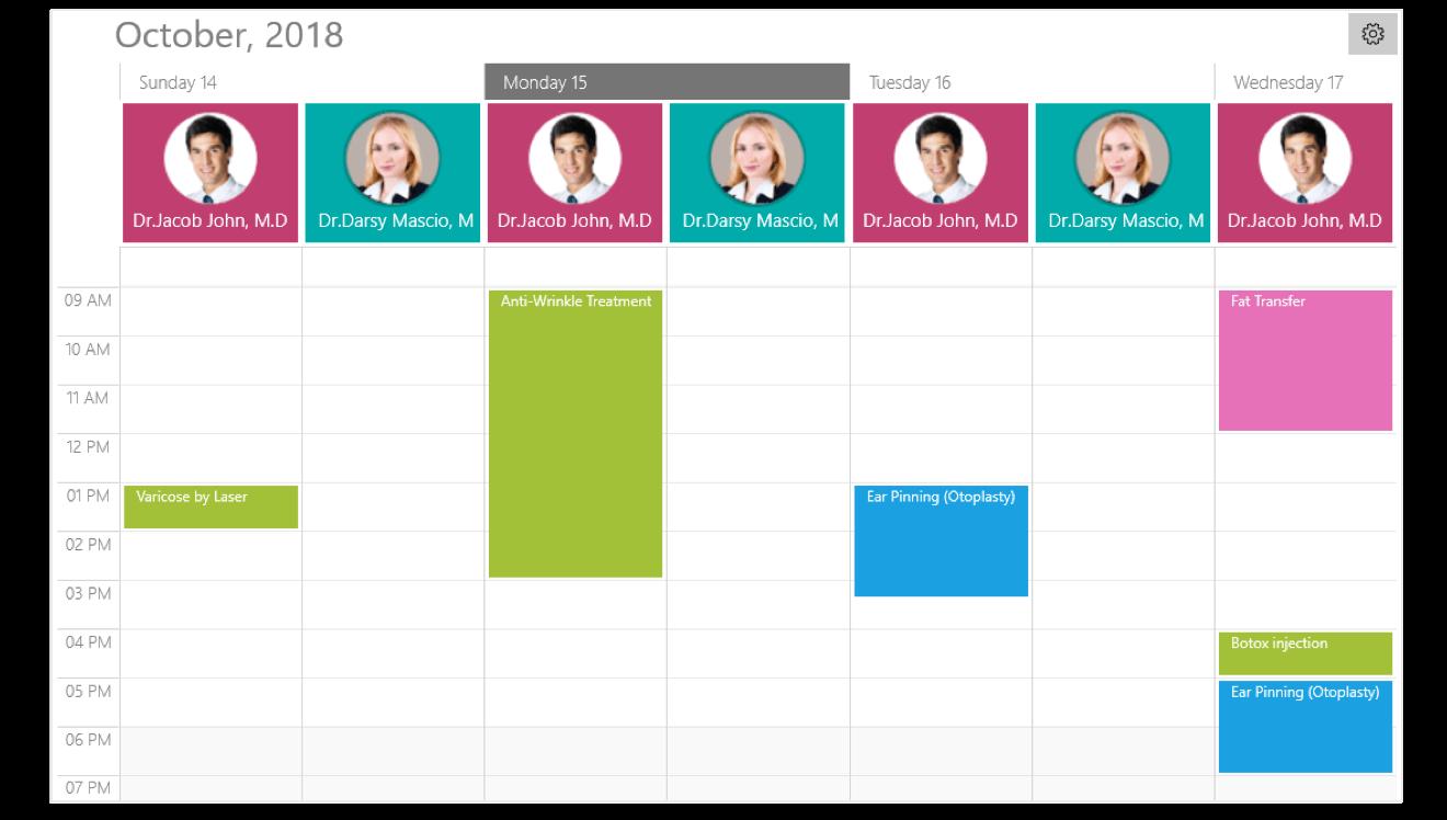 UWP Scheduler