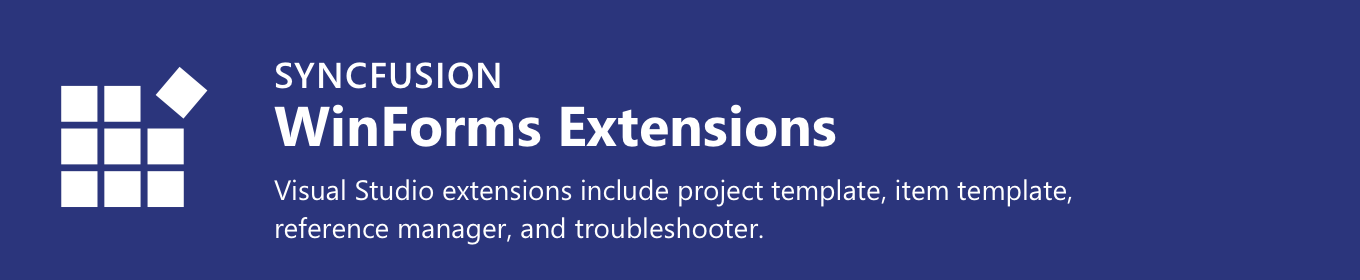 Syncfusion WinForms Extensions