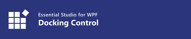 syncfusion WPF Docking