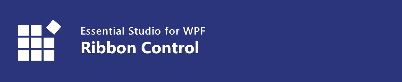 WPF Ribbon Control - Syncfusion
