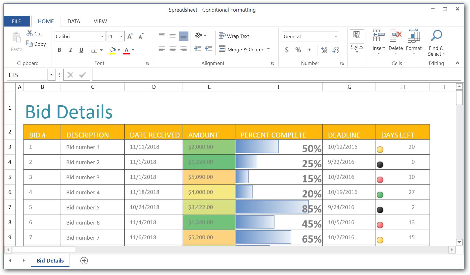 WPF Spreadsheet - Syncfusion WPF UI Controls - Visual Studio Marketplace
