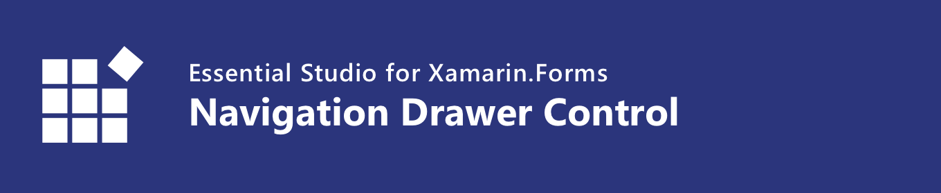 syncfusion xamarin navigation drawer control