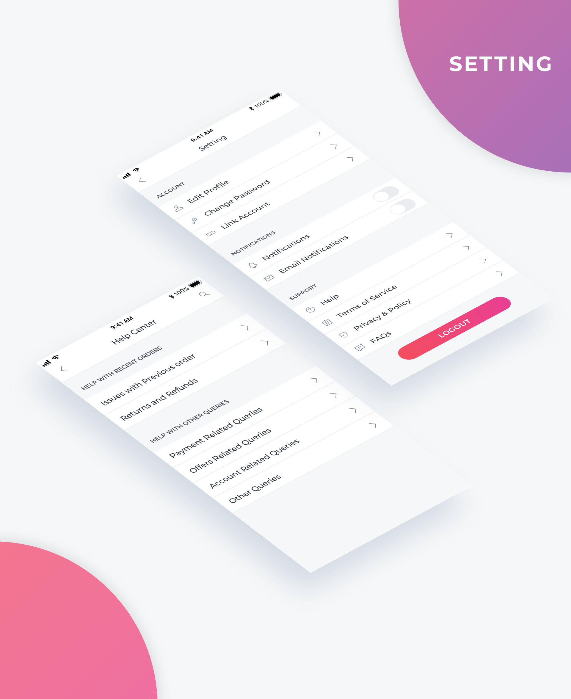 Essential UI Kit - Navigation Page