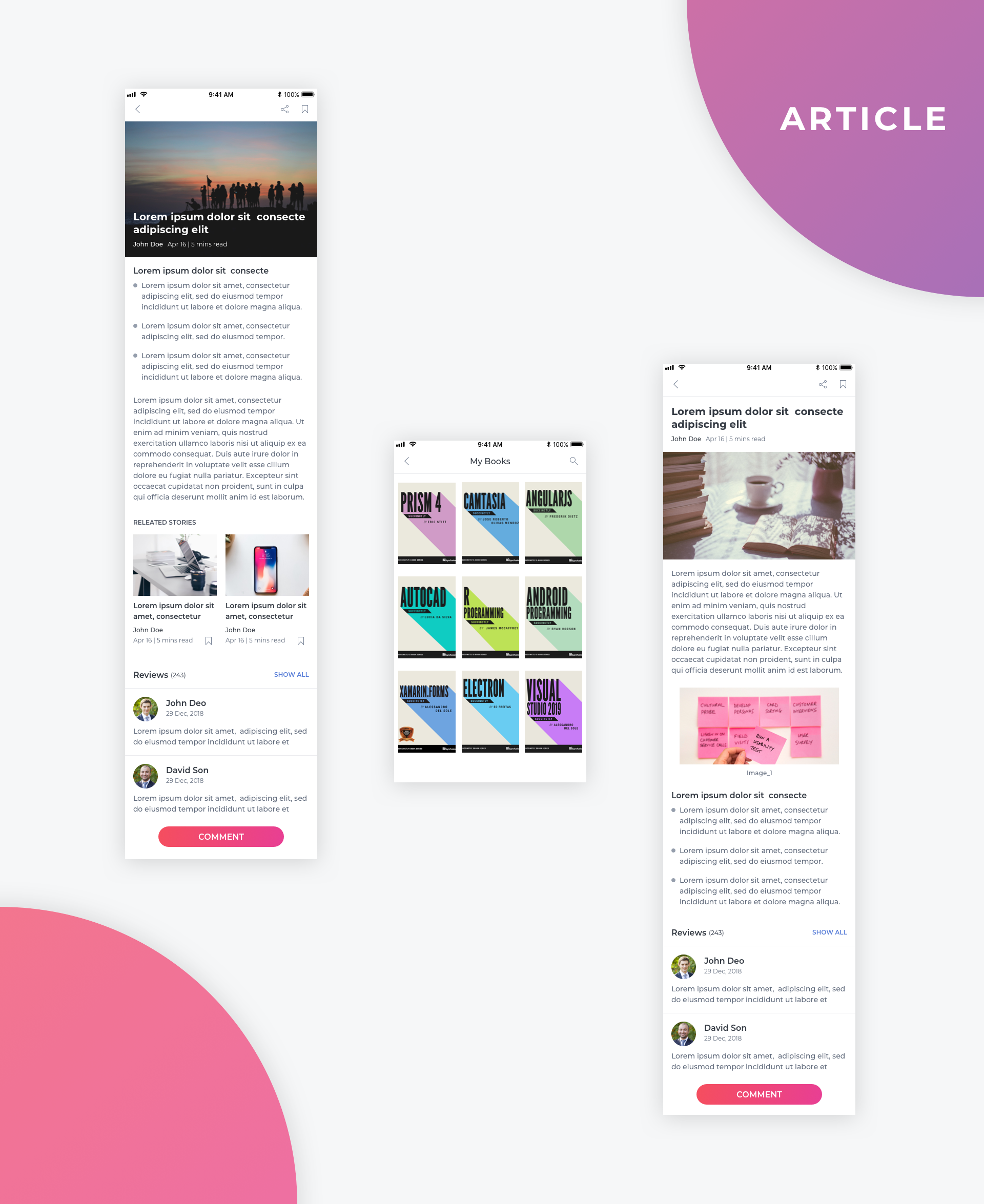Essential UI Kit - Article Page