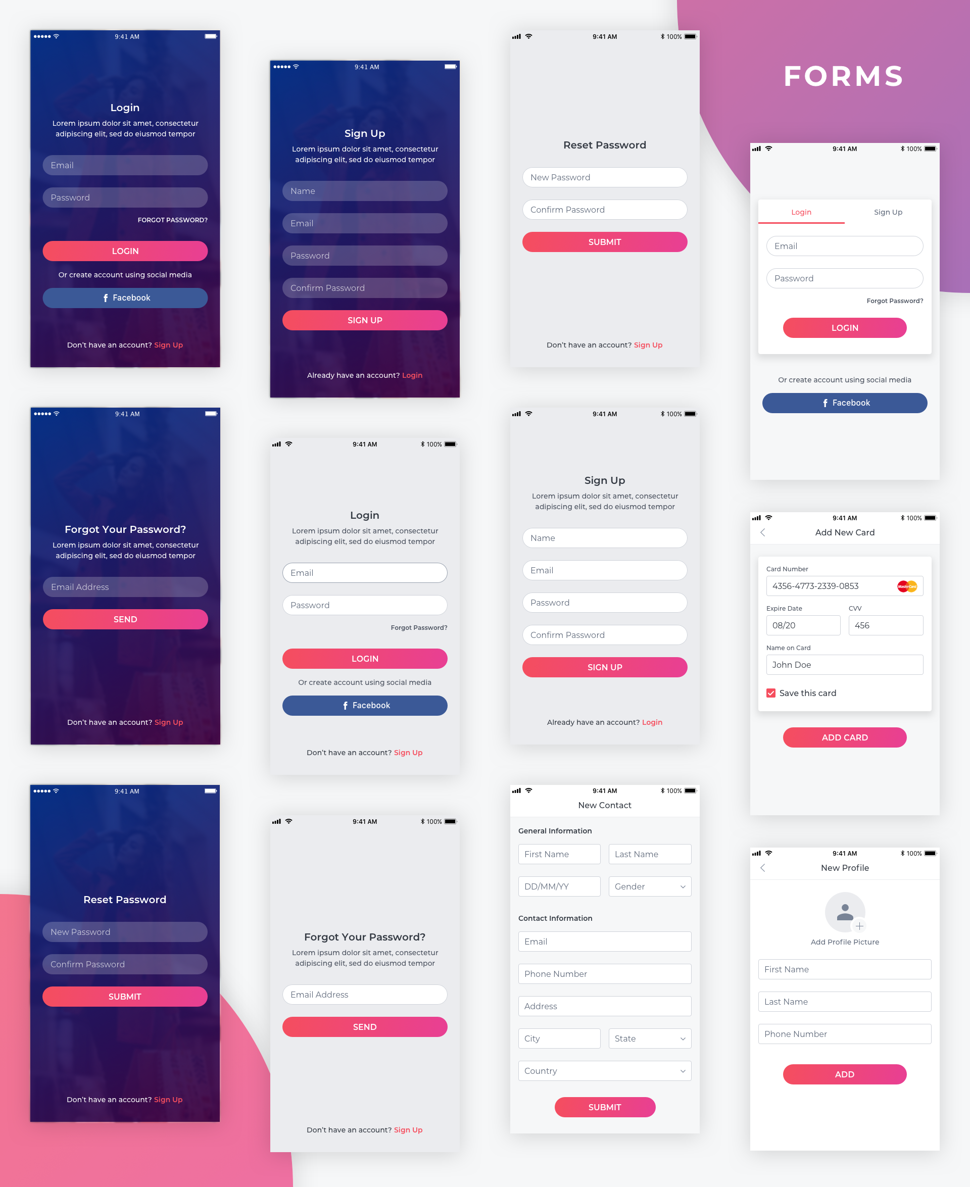 Essential UI Kit - Login Page